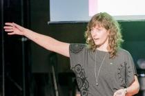 Ann Fernholm beordrade oss alla att bidra till Kostfondens viktiga arbete.